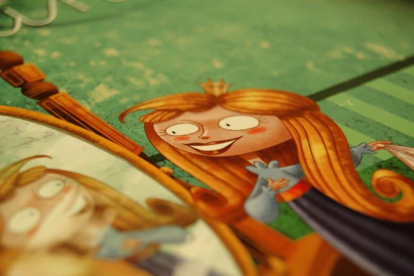 Proyecto de ilustración para el libro La Princesa Carolina 5
