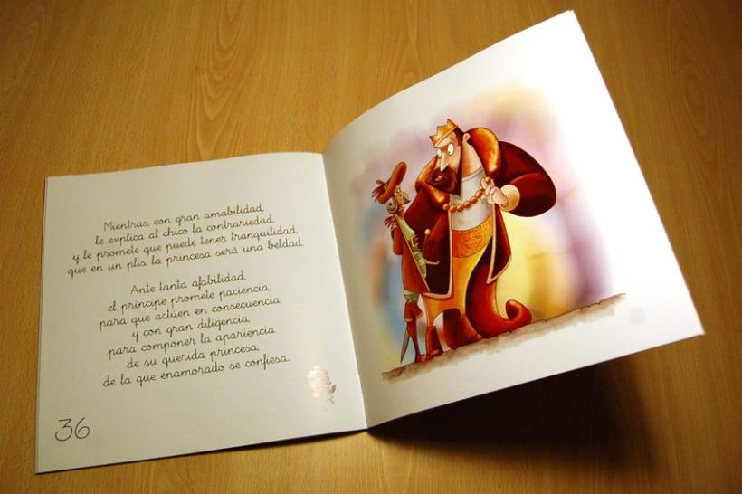Proyecto de ilustración para el libro La Princesa Carolina 4