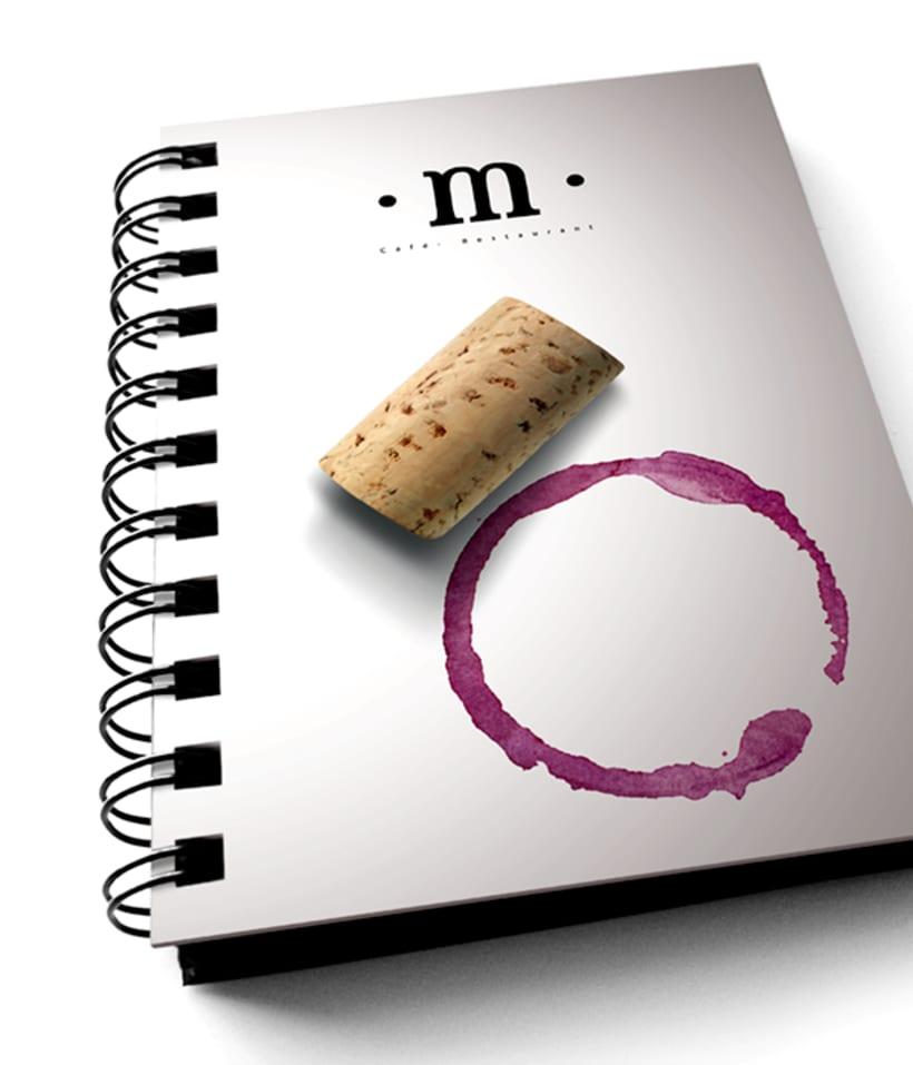 Diseño de identidad corporativa para Momen 4