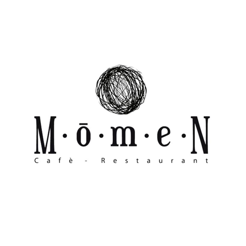 Diseño de identidad corporativa para Momen 1