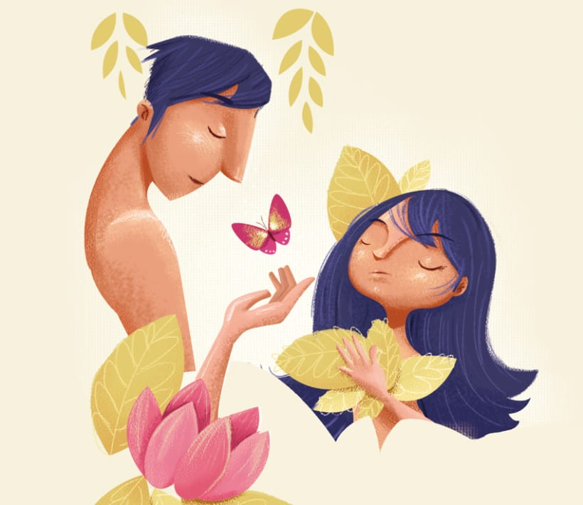 Ilustraciones Revista BBmundo Febrero 1