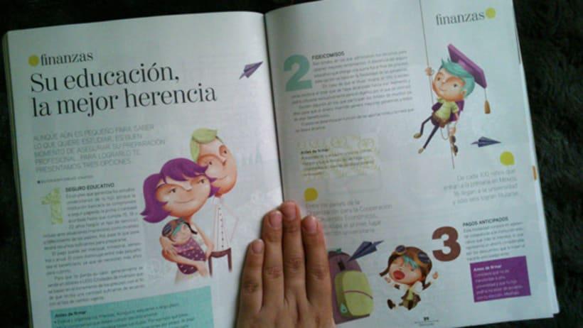 Ilustraciones revista BBmundo Marzo 4