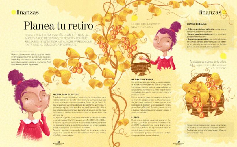 Ilustraciones Revista BBmundo Abril 4