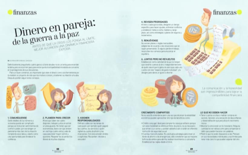Ilustraciones Revista BBmundo Mayo 4