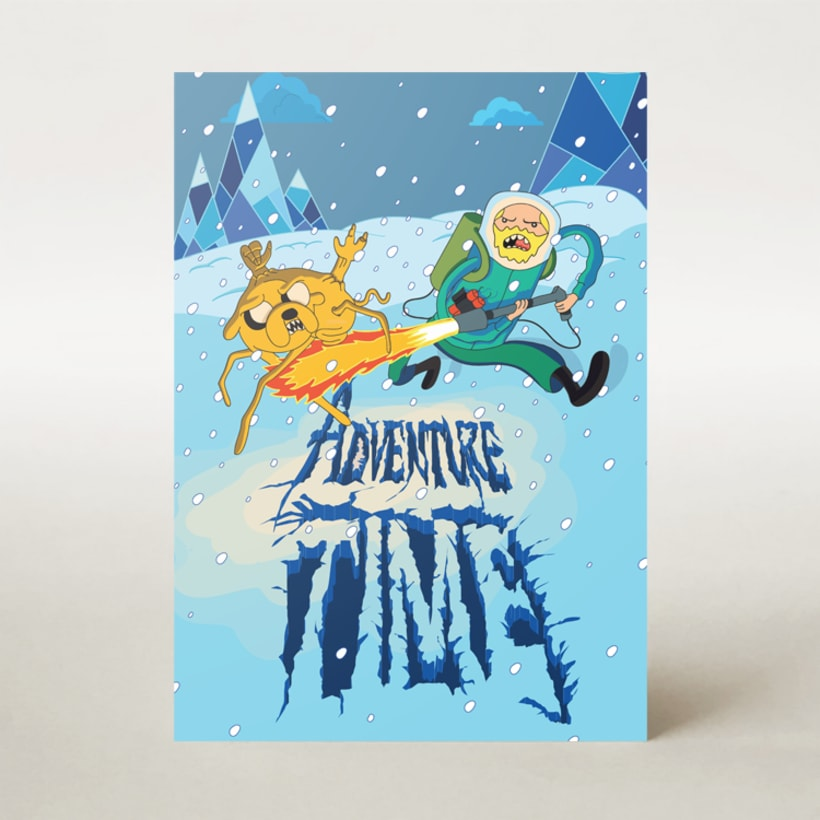 Mashup: Adventure Time + The Thing 1