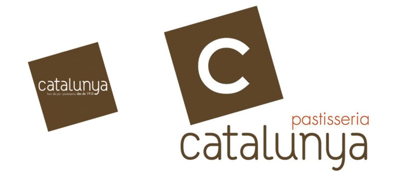 Rediseño logotipo Pastisseria Catalunya 1