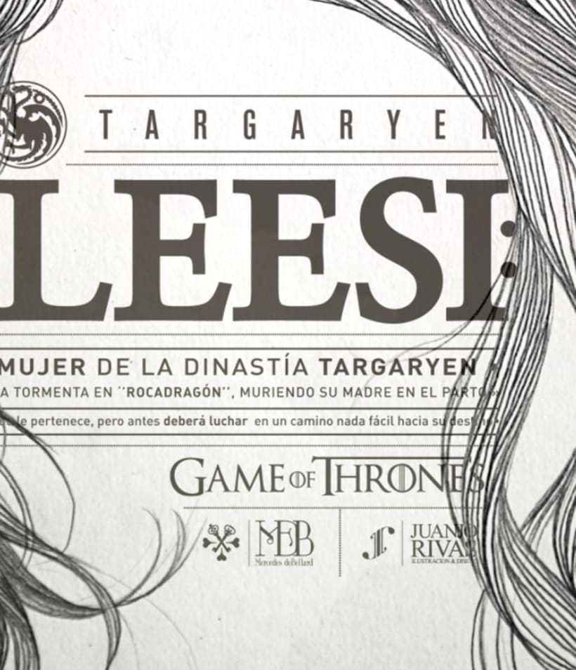 KHALEESI ILLUSTRATION (G.O.T) vol.1 7