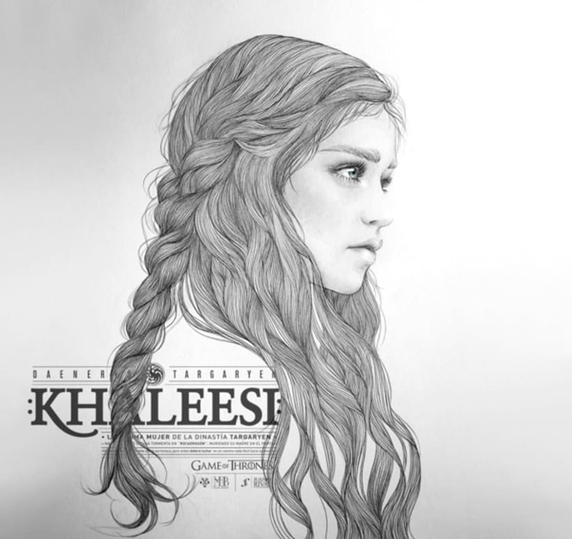 KHALEESI ILLUSTRATION (G.O.T) vol.1 3