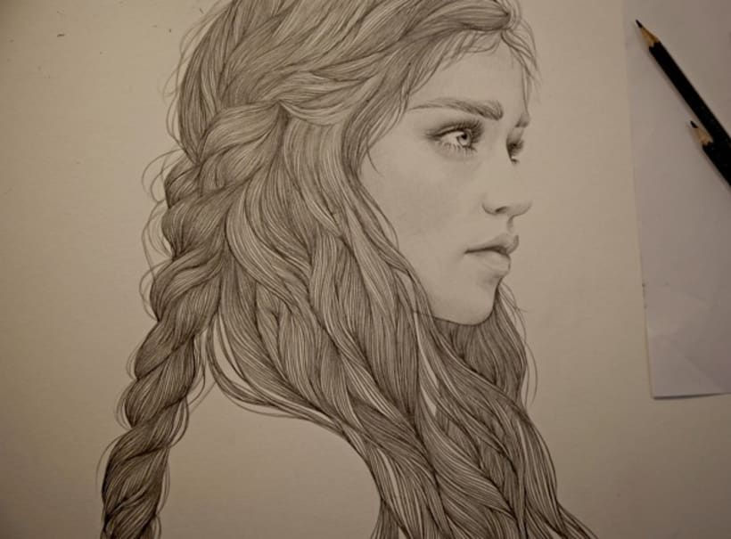 KHALEESI ILLUSTRATION (G.O.T) vol.1 2