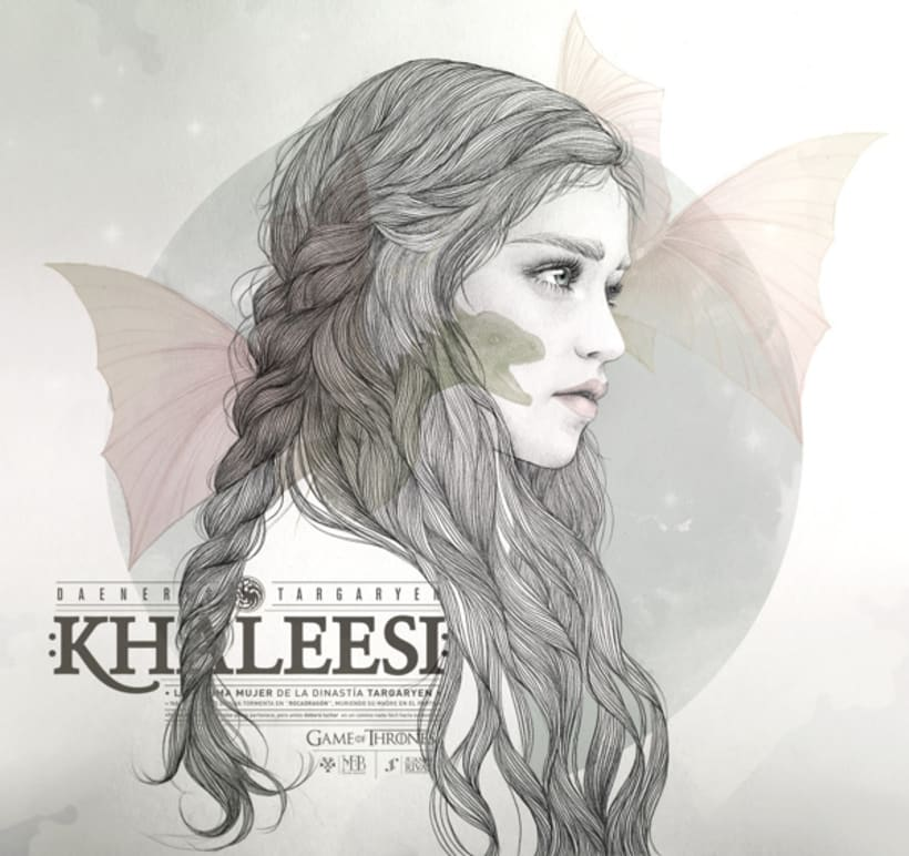 KHALEESI ILLUSTRATION (G.O.T) vol.1 1