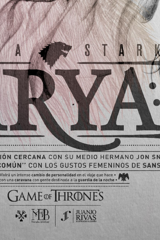Arya Stark illustration (G.O.T) vol.2 7