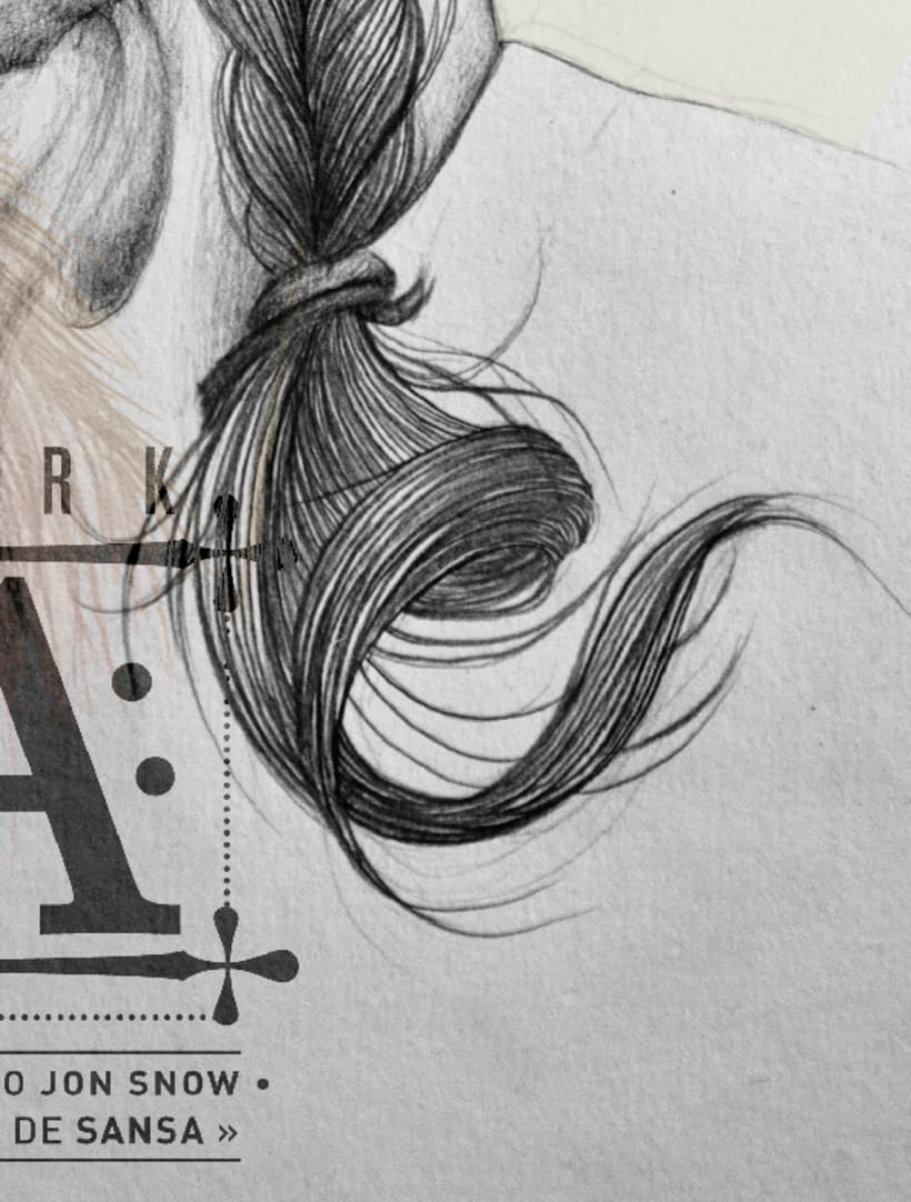 Arya Stark illustration (G.O.T) vol.2 6