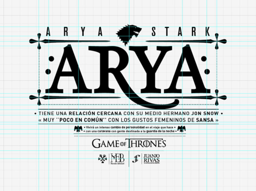 Arya Stark illustration (G.O.T) vol.2 4