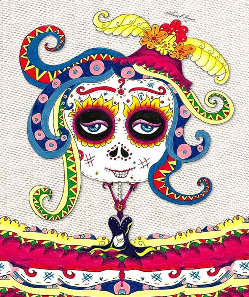 Calaveras Mexicanas Domestika
