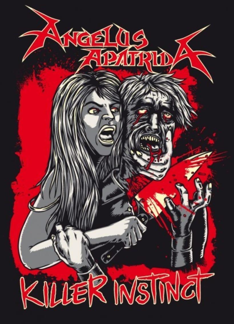 Angelus Apatrida - Ilustraciones pera Merchandising 3