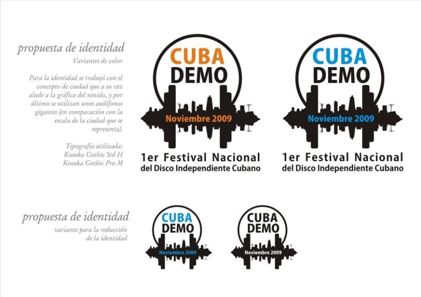 Logo CubaDemo 2