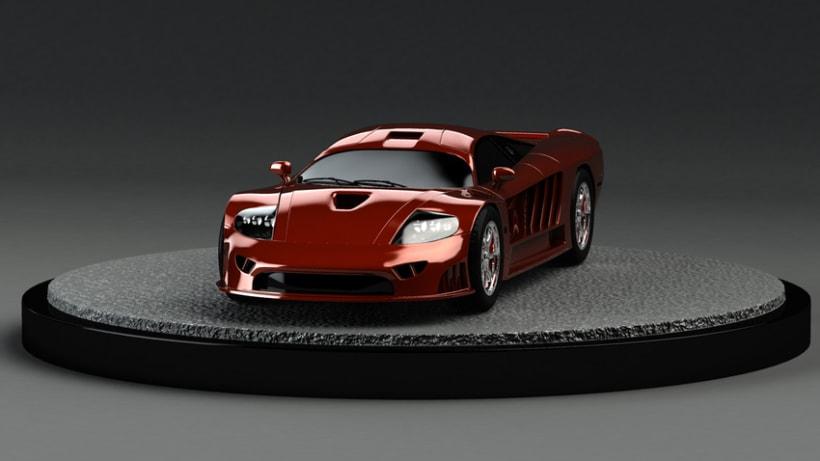 modelado de deportivo 3