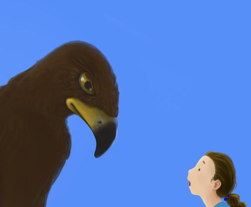 Hablando con la señora águila 1