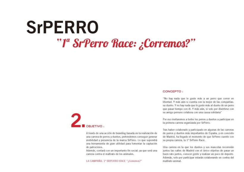 """Creativo """"Sr Perro for President"""" 7"""