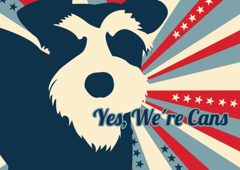"""Creativo """"Sr Perro for President"""" 3"""