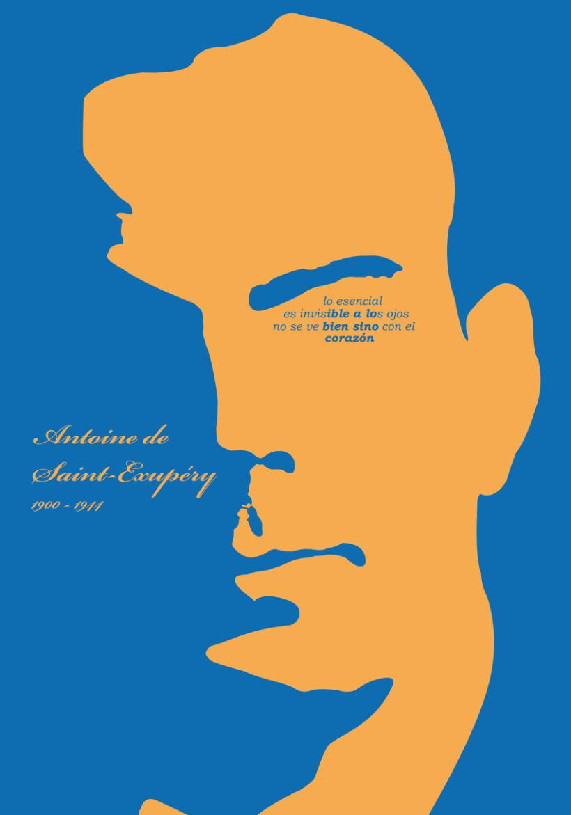 Homenaje a Antoine de Saint-Exupéry 2