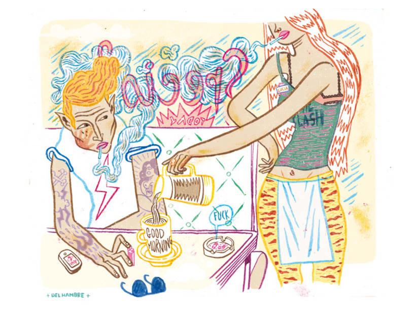 HUMO (Libro ilustrado) Del Hambre dibuja y 16 autores escriben. Publicación: MARZO 2014 10