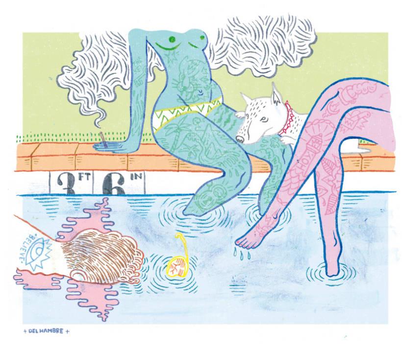 HUMO (Libro ilustrado) Del Hambre dibuja y 16 autores escriben. Publicación: MARZO 2014 4