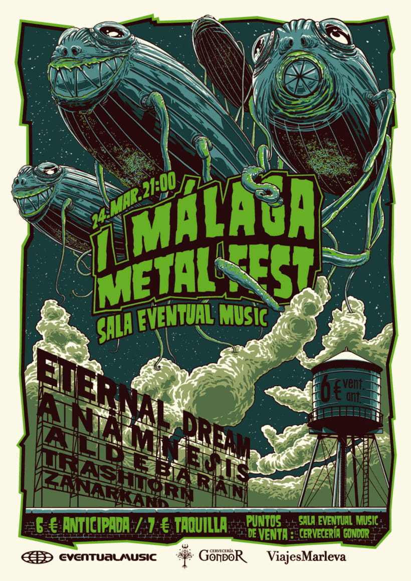 Málaga Metal Fest 1