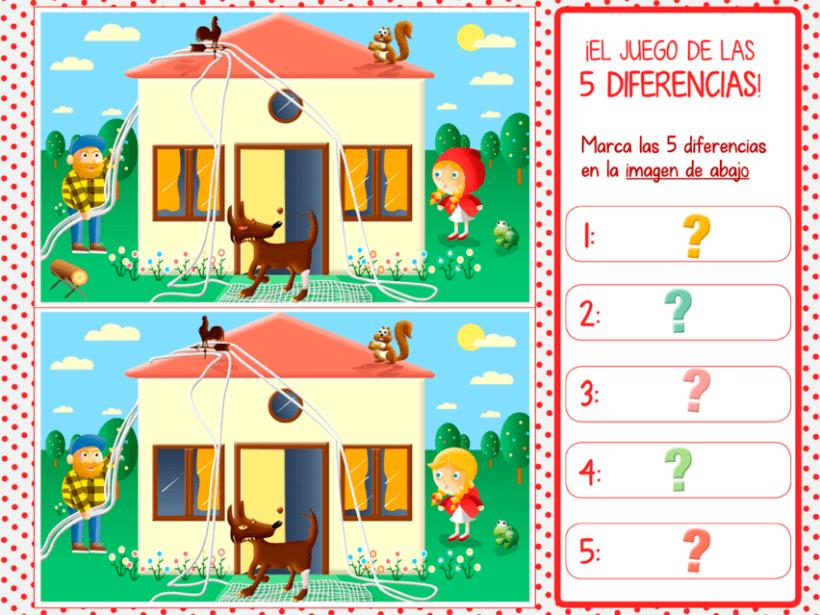 """Cuento infantil interactivo """"Caperucita Roja"""" 27"""