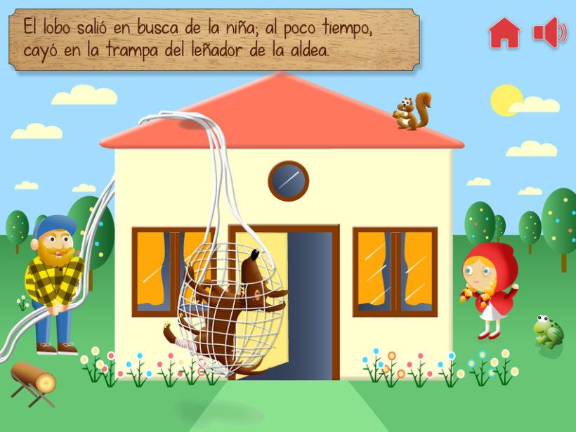"""Cuento infantil interactivo """"Caperucita Roja"""" 21"""