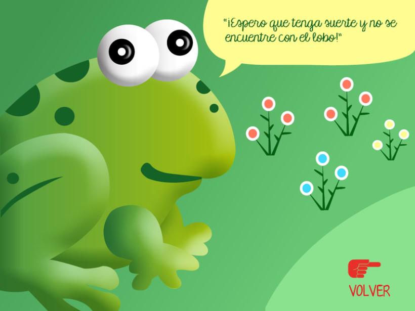 """Cuento infantil interactivo """"Caperucita Roja"""" 11"""