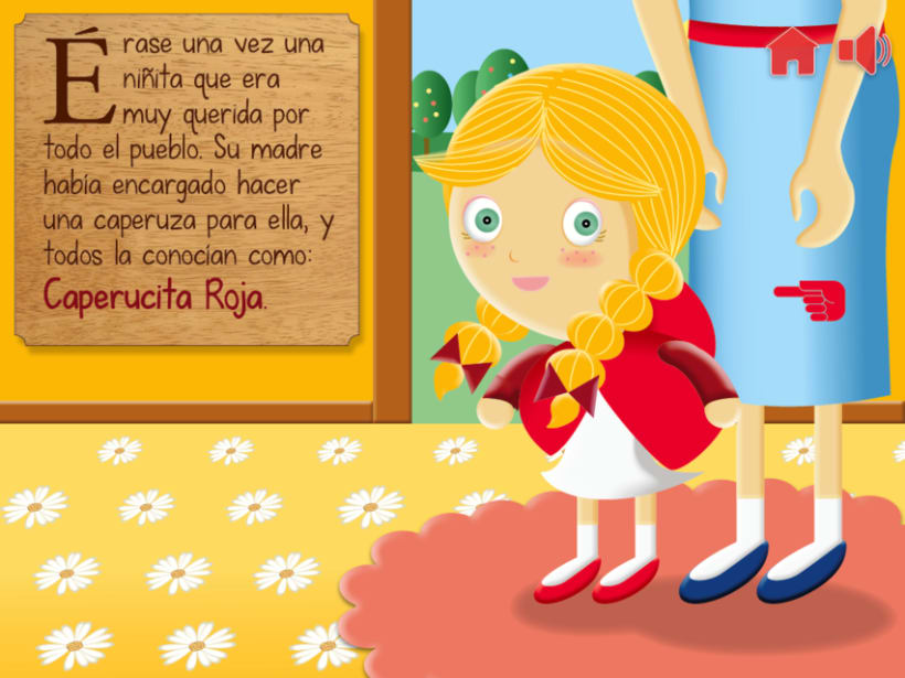 """Cuento infantil interactivo """"Caperucita Roja"""" 6"""