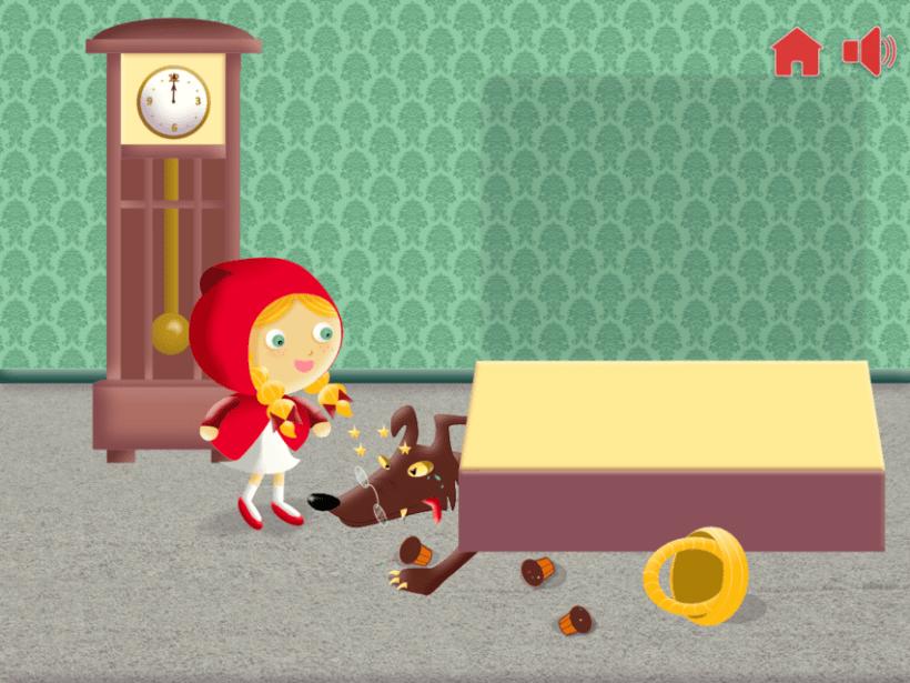 """Cuento infantil interactivo """"Caperucita Roja"""" 20"""