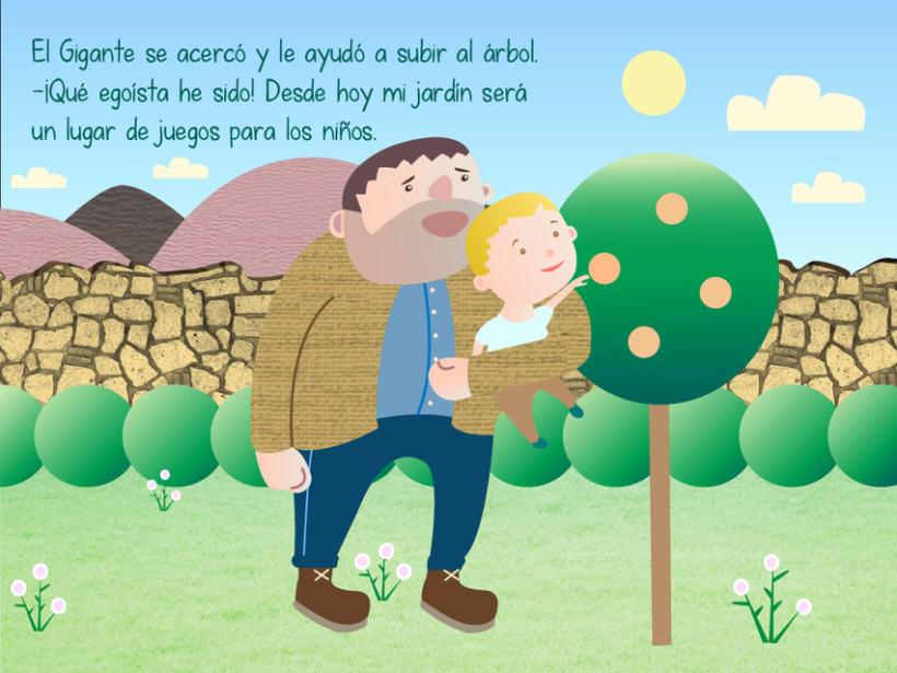 "Cuento infantil interactivo ""El Gigante Egoísta"" 16"