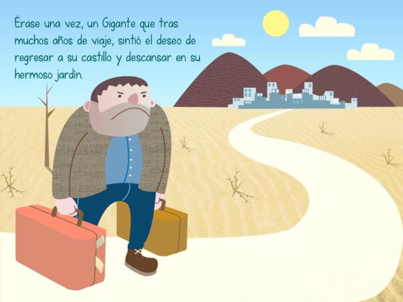 "Cuento infantil interactivo ""El Gigante Egoísta"" 5"