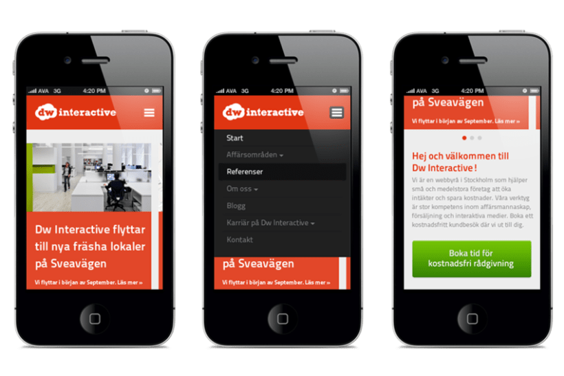 Responsive design - Dw Interactive 1
