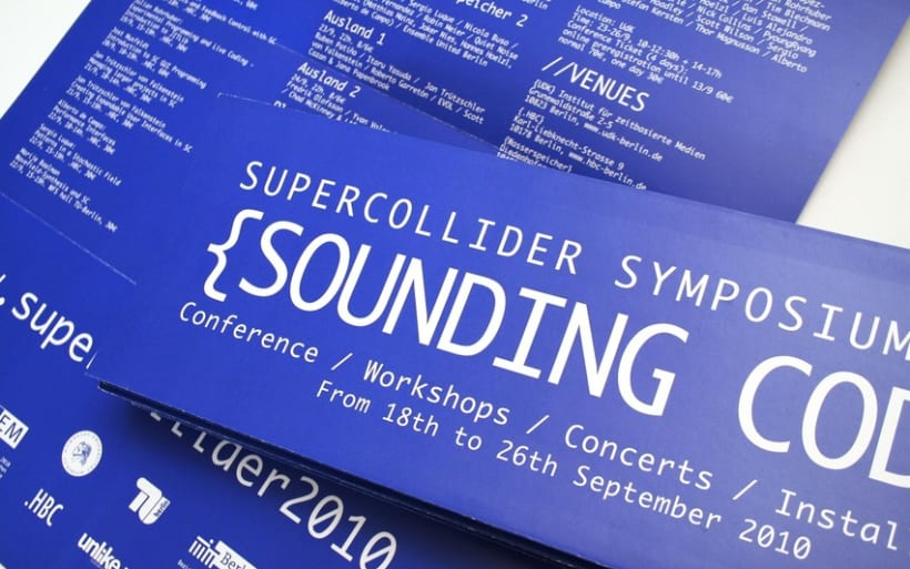 SUPERCOLLIDER SYMPOSIUM 1