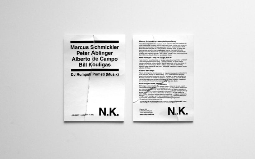 NK FLYERS | PAPER SERIES 3