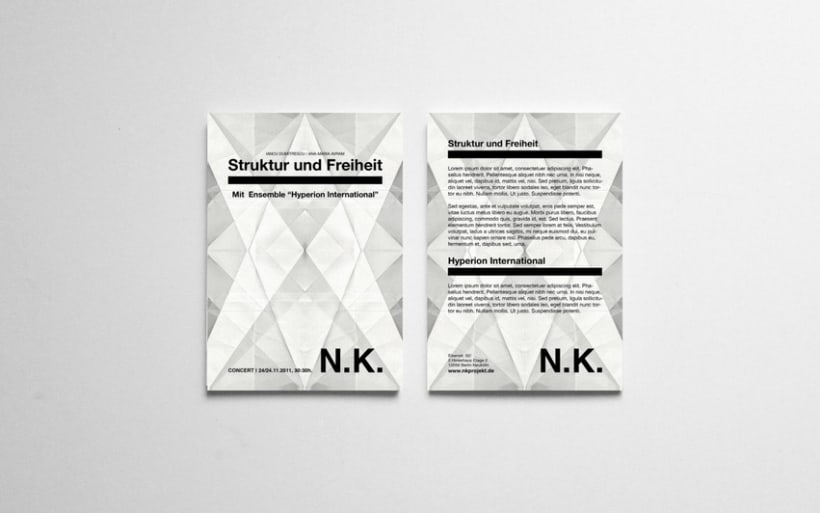 NK FLYERS | PAPER SERIES 2