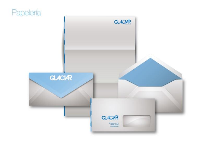 Imagen corporativa GLACIAR 4