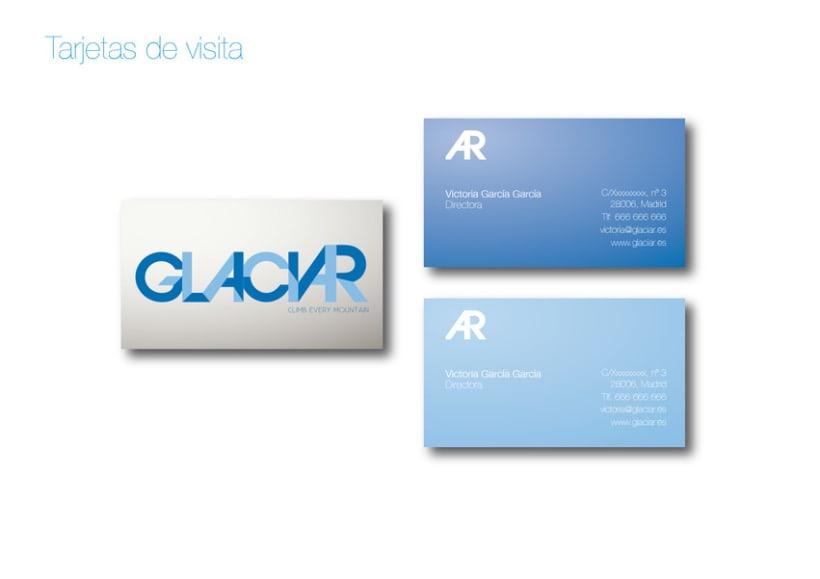 Imagen corporativa GLACIAR 5