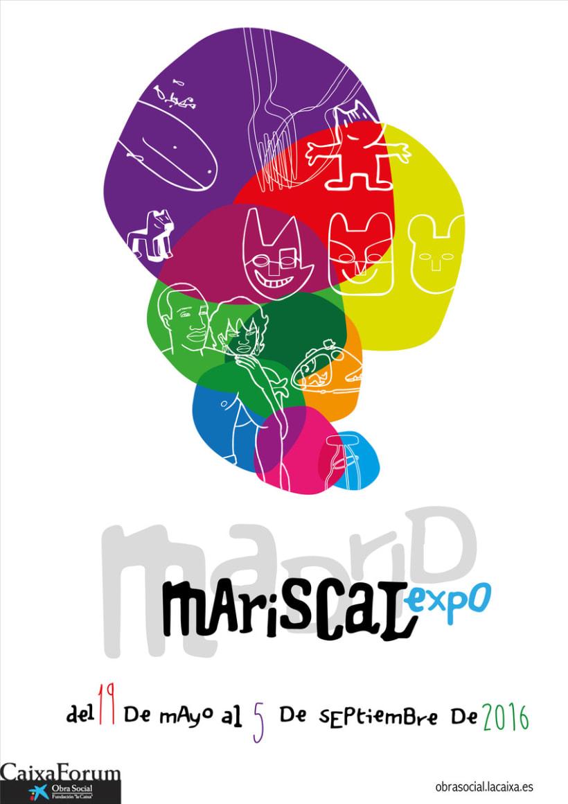 Cartel alternativo Expo Mariscal 1