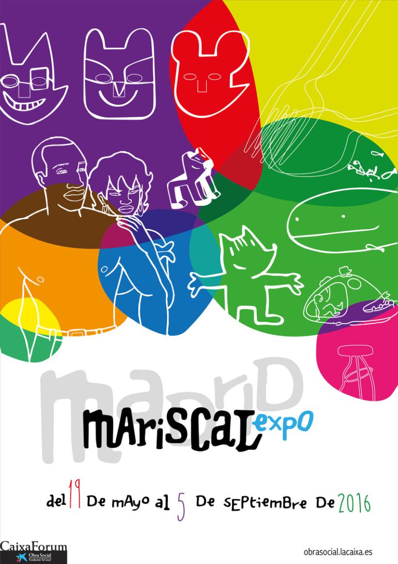 Cartel alternativo Expo Mariscal 2