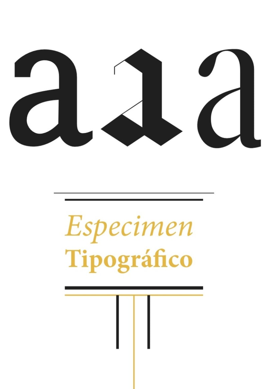 Dosier tipografíco 1