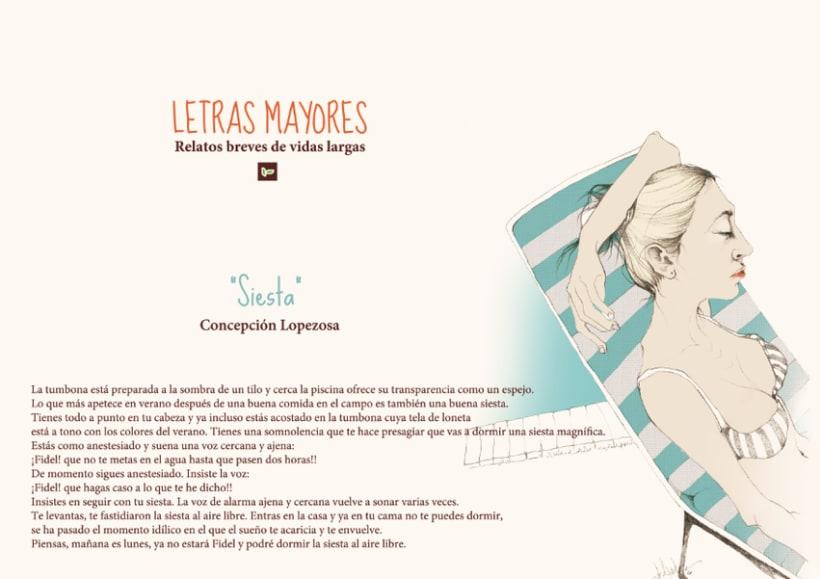 """""""LETRAS MAYORES"""" 6"""
