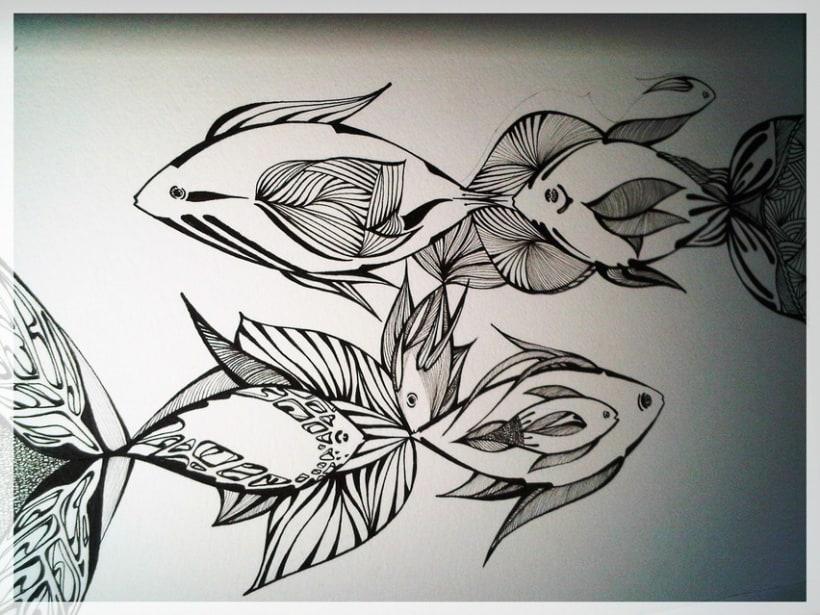 Somos peces /// Tinta 4