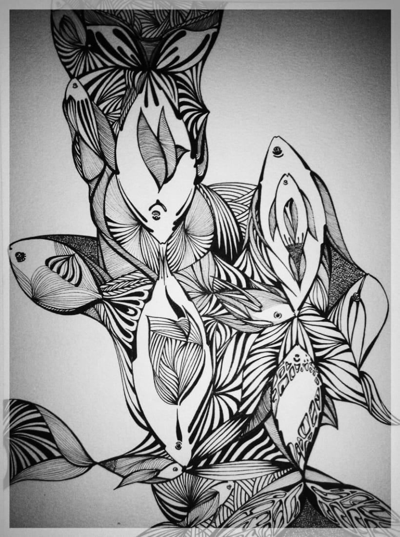 Somos peces /// Tinta 3