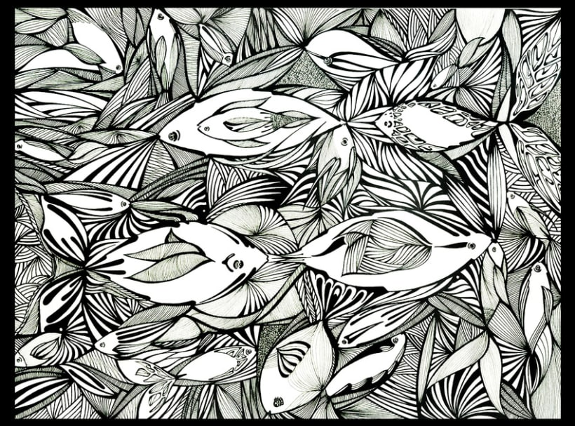 Somos peces /// Tinta 1