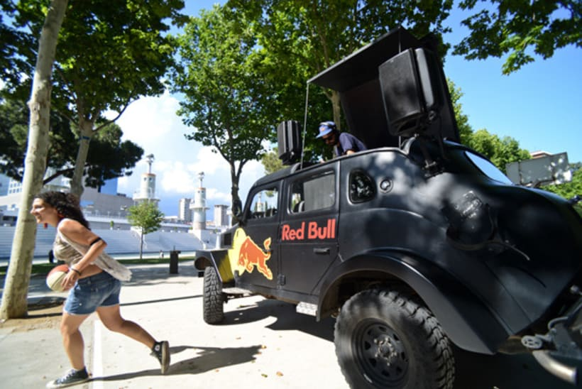 EVENTO RED BULL KING OF THE ROCK - BCN 2