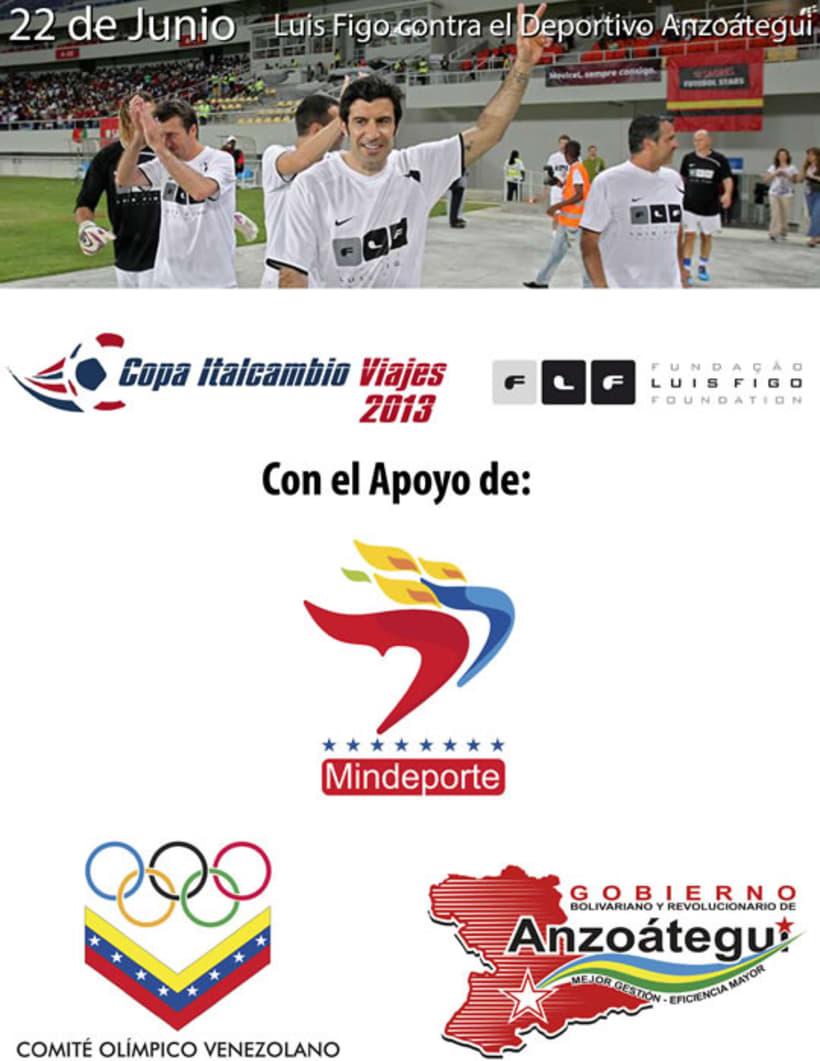 Luis Figo en Venezuela (Copa Italcambio Viajes) 10